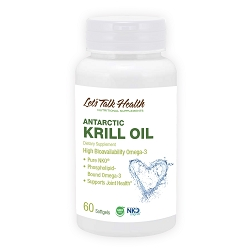 Antarctic Krill Oil <span hidden>Fish Flax Oil</span> - New Formula!