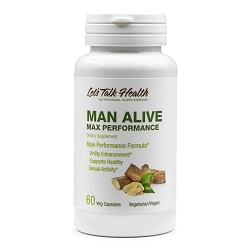Man Alive Max Performance - New Formula!