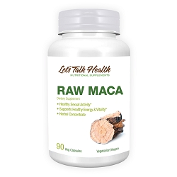 MACA - Certified Raw Organic Extract