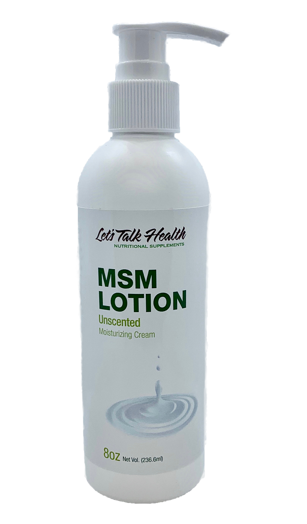 MSM Lotion - Unscented